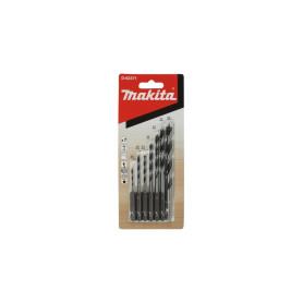 "Set Brocas Madera 7pcs(1/4"" Toma Hex)(2mm,3mm,3mm,4mm,5mm,6mm,8mm) D-62371 Makita"