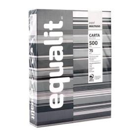Resma Papel Equalit carta 500 hojas