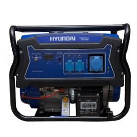 Generador Hyundai Gasolina 5.5 Kva P. Eléctrica Monofásico Abierto C. Ruedas