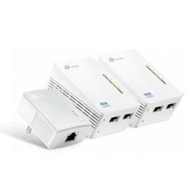 Kit Powerline Extensor Universal de Cobertura Wi-Fi AV500