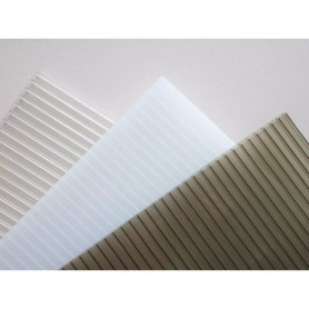 plancha policarbonato alveolar 4mm transparente 2.10x5.80