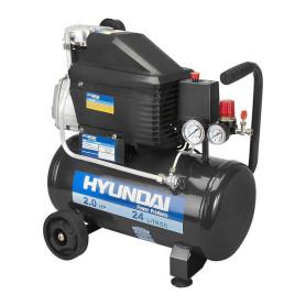 Compresor Hyundai 2hp 24 litros 220 volts
