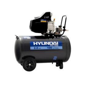 Compresor de aire 2 hp 100 Litros Hyundai