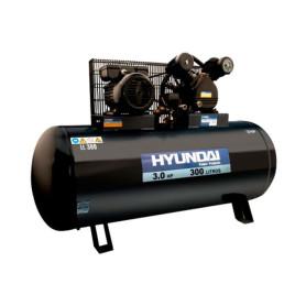 Compresor Monofásico Correa Hyundai 3 HP 300 L