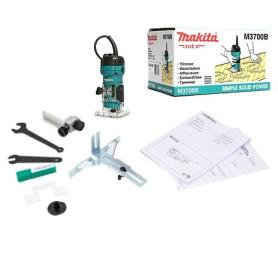 Fresadora manual makita 1/4 M3700B