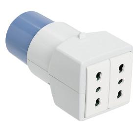 Adaptador VIMAR EN60309 + 2P17/11