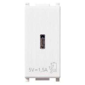 Unidad alimentación VIMAR USB 5V 1,5A 1M