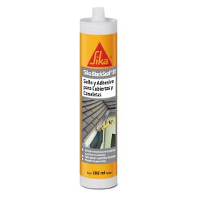 Sello adhesivo para cubiertas y canaletas Sika 300ml