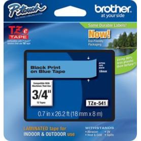 Cinta rotuladora Brother TZe541