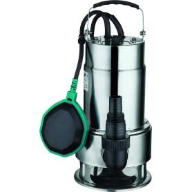 Bomba de agua sumergible acero inoxidable 1 hp 8 mts