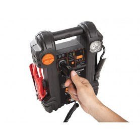 Partidor de bateria autos 500 amperes Black and decker