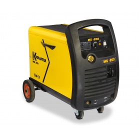 soldadora mig krafter 220v potencia 50 - 200 amp.