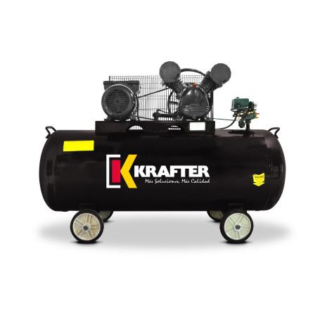 Compresor de aire krafter 200 Lts. 220 V 3 HP