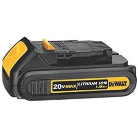 Bater'a Ion de Litio 20 V 1,5 Ah dewalt DCB201