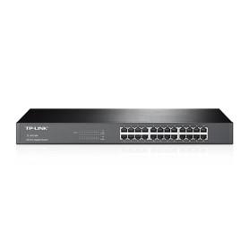 switch de acero 24 puertos (tl-sg1024)
