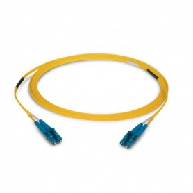 Jumper Fibra optica LC/UPC-LC/UPC monomodo DUPLEX 3MM 1 MTS