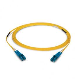Jumper Fibra optica SC/APC-SC/APC monomodo DUPLEX 3MM 1 MTS