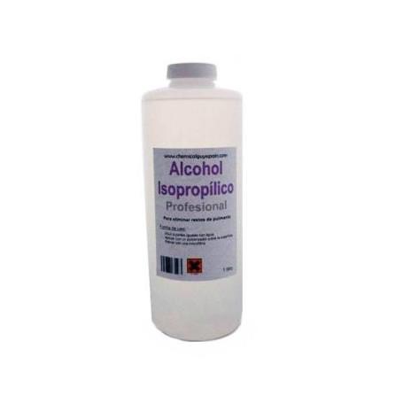 Alcohol Isopropilico 99% pureza 1 lt