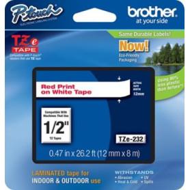 Cinta rotuladora Brother TZe232