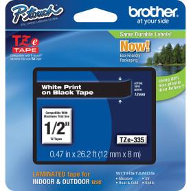 Cinta rotuladora Brother Tze335