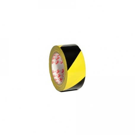 cinta demarcatoria amarillo-negro (50mmx33mts.)