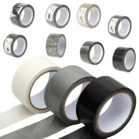 cinta tela impermeable gris (25mmx50mts.)