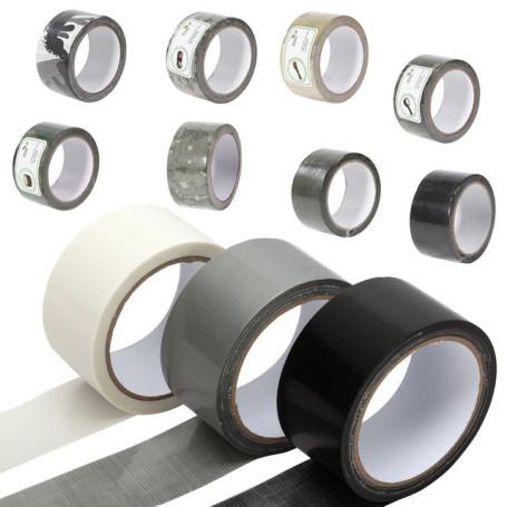 cinta tela impermeable negra (50mmx50mts.)