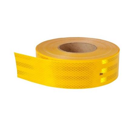 cinta reflectante alta amarilla (25mmx5mts.)