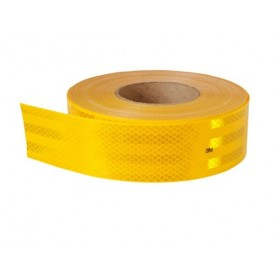 cinta reflectante alta amarilla (50mmx5mts.)