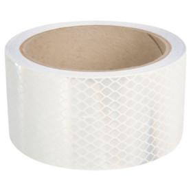 cinta reflectante alta int. blanca (25mmx5mts.)
