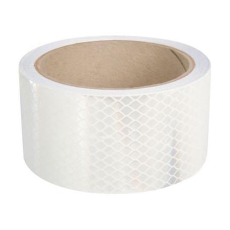 cinta reflectante alta int. blanca (50mmx45.72mts.)