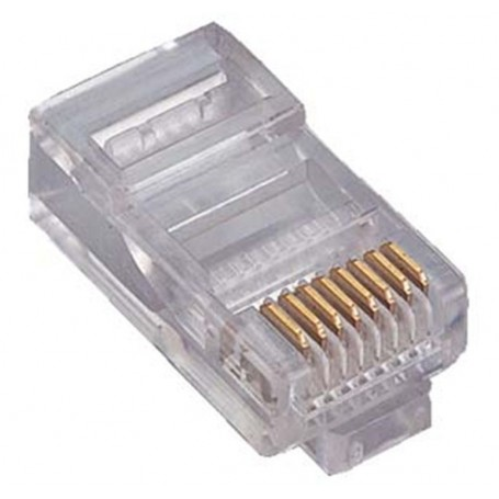 Conector rj-45 Cat 5e 100 Unidades