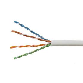 Cable utp Categoria 6 Unifilar Gris Aliacion