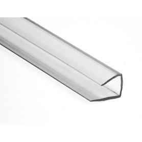 perfil u transparente 2.10 x 4/6 mm