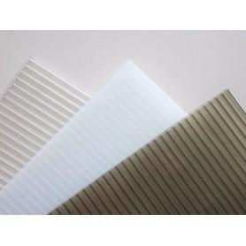 policarbonato uv 2.10x5.80 10mm transparente 101253 TRIPLEE