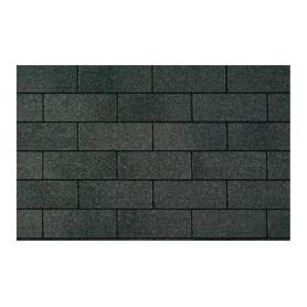 Teja asfáltica ct20 negra (moire black) 3.1m2 volcan 2000251 VOLCAN