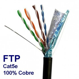 Cable ftp cat 5e rollo 305 mts FTP5EEXN305 TRIPLEE