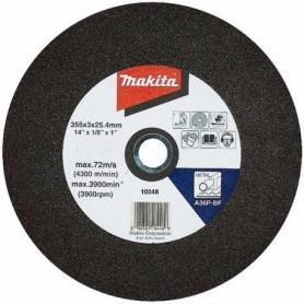 "DISCO CORTE METAL 14"" A36P (355 x 3,0 x 25,4 mm.) SET 5 UNIDADES"