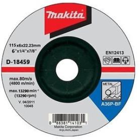 "DISCO DESBASTE METAL 4-1/2"" (115 X 6 X 22,23 mm.) C.D. / A24R-BF"