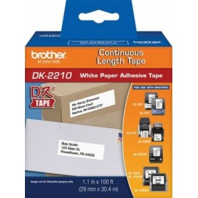 cinta etiquetas Brother DK2210