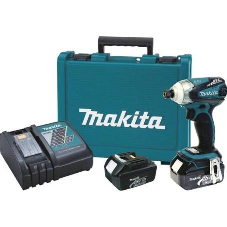 Atornillador de impacto inalambrico makita DTD148RFE
