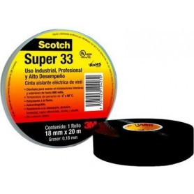 cinta eléctrica aisladora 3m super 33