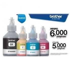 Pack recarga tinta colores brother BT5001 + Bt6001x3
