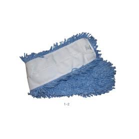 """Mopa seca antimicrobial azul 5 X 24"""" abco 12 unidades"""