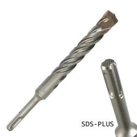 broca sds-plus 10 x 260 mm. (largo útil 200 mm)