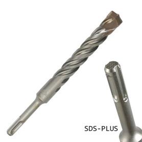 broca sds-plus 6 x 160 mm. (largo útil 100 mm)