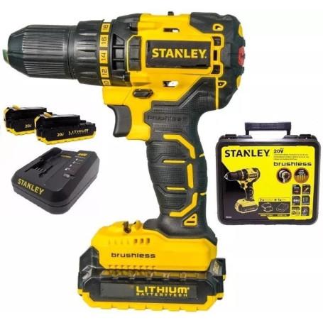 Taladro Inalambrico Rotacion 20V Stanley SBD201S2K
