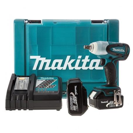 Llave de impacto inalámbrica Makita DTW251RFE