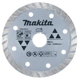 Disco Diamantado 105mm x 20mm Makita D-42553